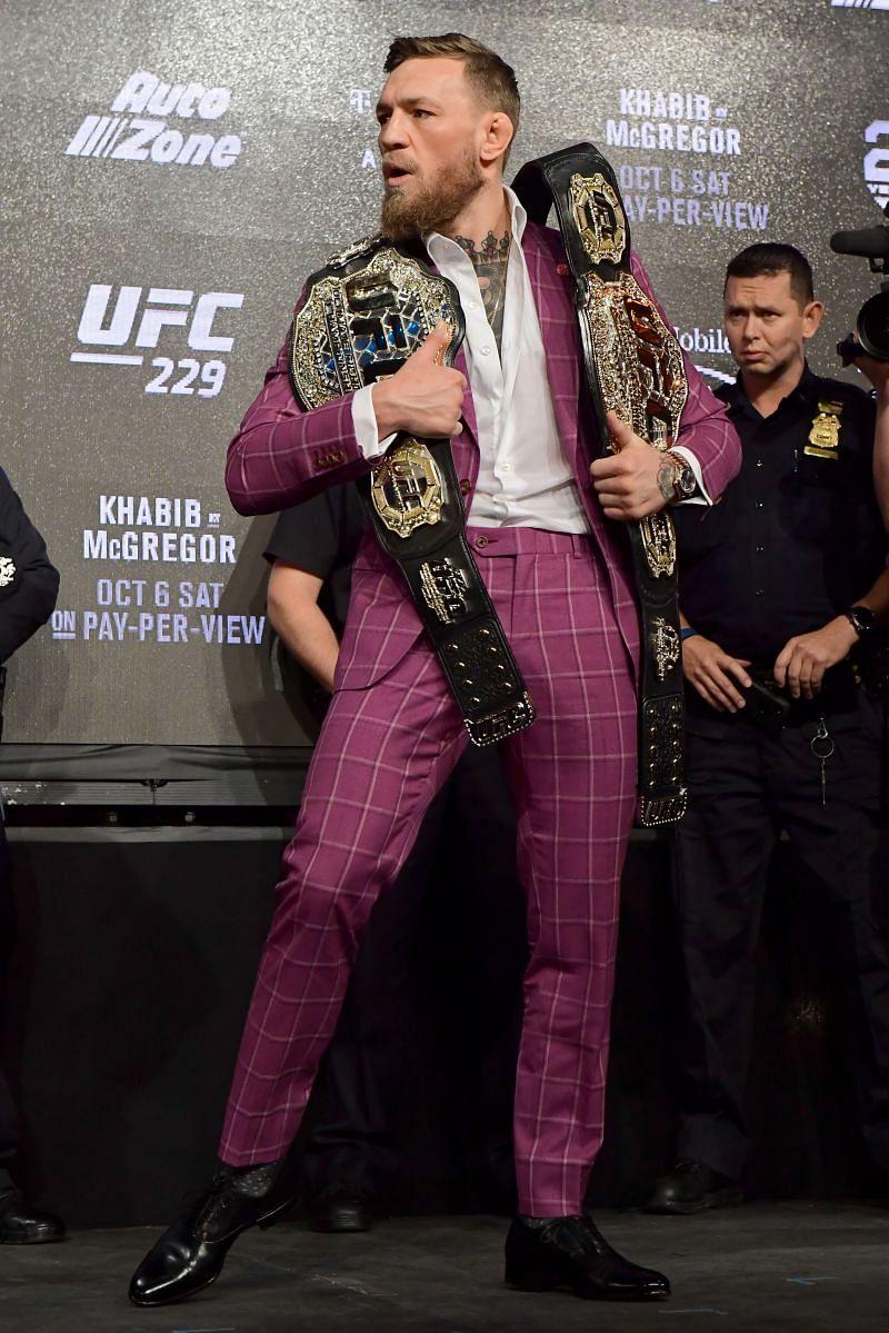 UFC 229: Khabib v McGregor Press Conference