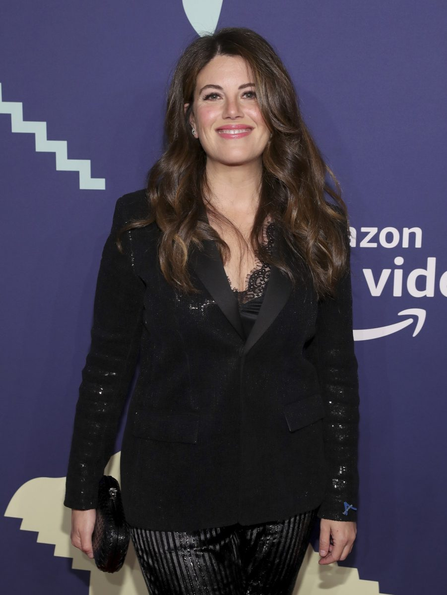 Monica Lewinsky dressed in all black at the 2019 Webby Awards