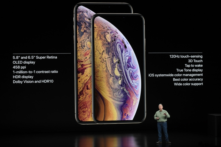 Phil Schiller, senior vice president of worldwide marketing at Apple Inc., speaks during an event at the Steve Jobs Theater in Cupertino, California, U.S., on Wednesday, Sept. 12, 2018. Apple will kick off a blitz of new products this week, ending a year of minor updates and setting the technology giant up for a potentially strong holiday quarter. Photographer: David Paul Morris/Bloomberg via Getty Images