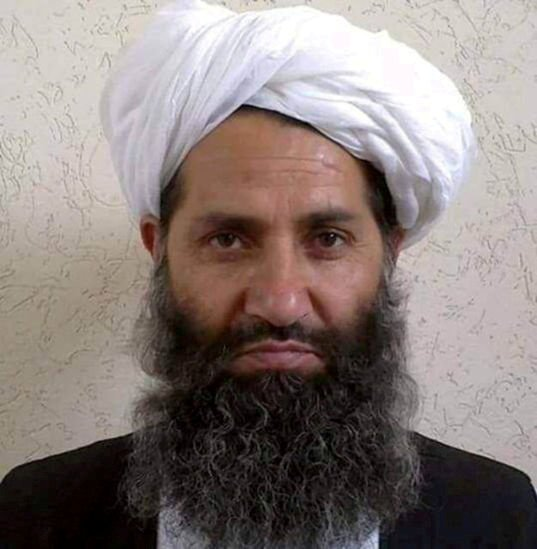 Taliban leader Mullah Haibatullah Akhundzada is seen in an undated photograph, posted on a Taliban Twitter feed on May 25, 2016, and identified separately by several Taliban officials, who declined to be named. Social Media/File Photo ATTENTION EDITORS - THIS IMAGE WAS PROVIDED BY A THIRD PARTY. EDITORIAL USE ONLY/File Photo