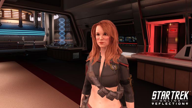 Admiral Leeta in Star Trek Online: Reflections