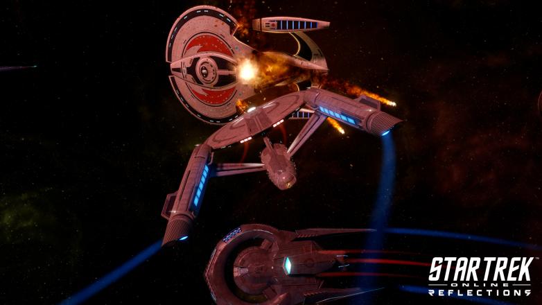 Battle with the Terran Empire in Star Trek Online: Reflections