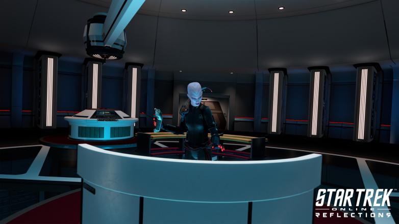 Mirror Universe Kuumarke in Star Trek Online: Reflections