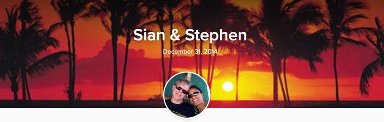 Sian Proctor and husband Stephen