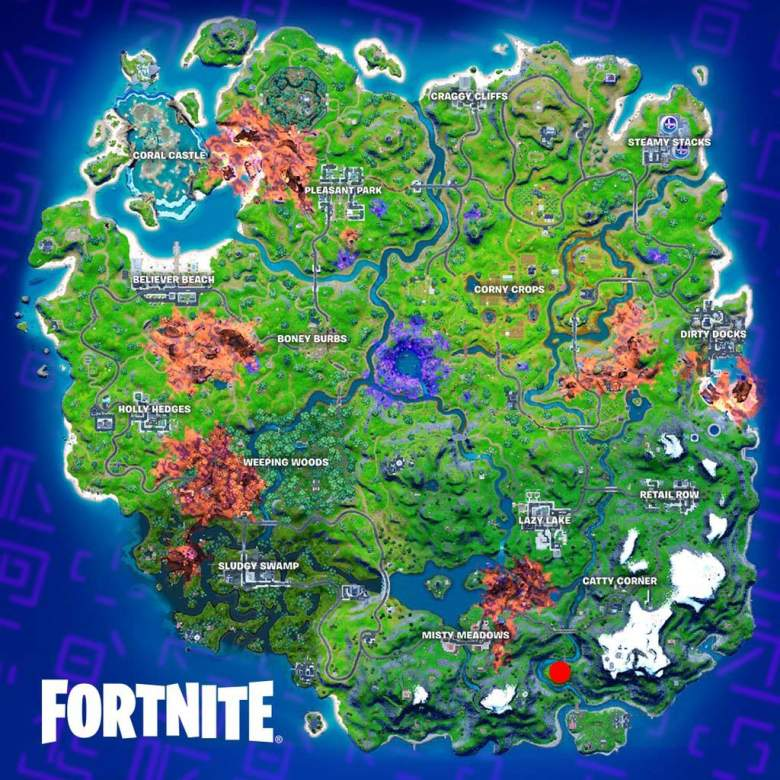 fortnite cube location
