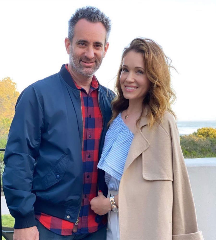 Marla Sokoloff Is Pregnant Expecting Surprise 3rd Baby With Husband Alec Puro