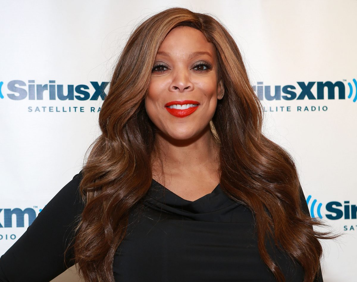 Wendy Williams smiling